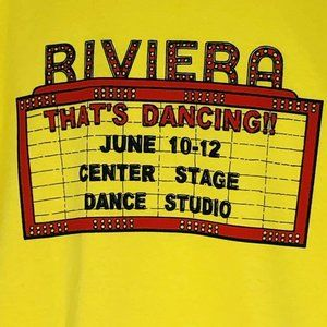 Riviera Thats Dancing 2005 Deadstock Center Stage
